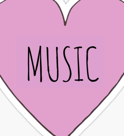MUSIC LOVE Sticker