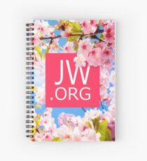 JW.ORG (Cherry Blossom) Spiral Notebook