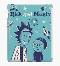 Retro Rick and morty iPad Case/Skin