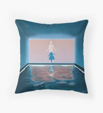 Fluorescent Adolescent Throw Pillow