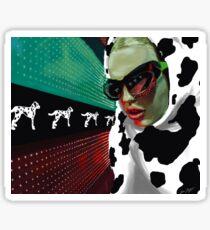 Cruella Sticker