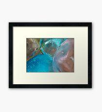Coloured Ice Creation Print #2 Framed Print