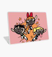 Power Pug Girls Laptop Skin