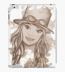 Steampunk Girl iPad Case/Skin