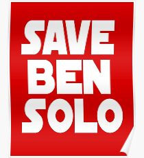 Save Ben Solo Poster