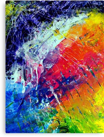 Original Abstract Art #200 - My Art Series by Stuart Blythe