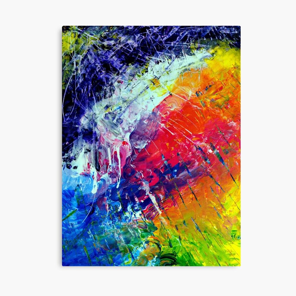 Original Abstract Art #200 - My Art Series Canvas Print