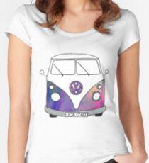 volkswagen bus Women's Fitted Scoop T-Shirt