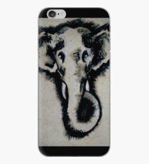 Inked elephant iPhone Case