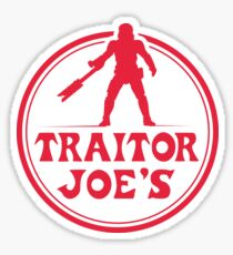 Traitor Joe's Sticker