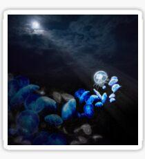 Moon Jellyfish Sticker