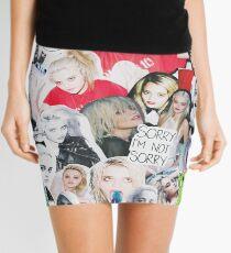 sky  Mini Skirt