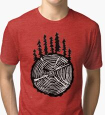 the wisdom is in the trees Tri-blend T-Shirt