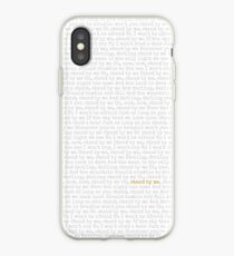 Stand By Me iPhone Case
