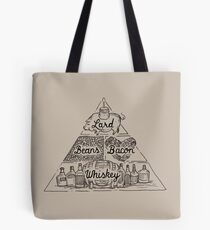 The Four Basic Food Groups Tote Bag