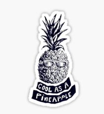 How About Them Pineapples Sticker