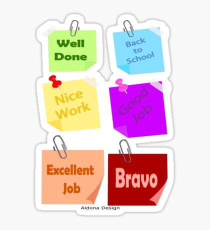 Back to school & Teachers Stickers Sticker