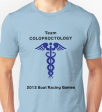 Team Coloproctology - Boat Racing Games T-Shirt