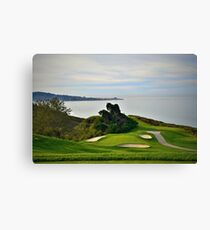 Torrey Pines North Course No. 6 Canvas Print