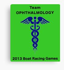 Team Ophthalmology - Boat Racing Games Canvas Print