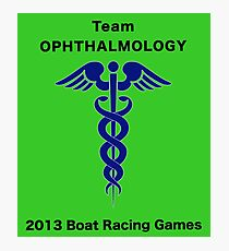 Team Ophthalmology - Boat Racing Games Photographic Print