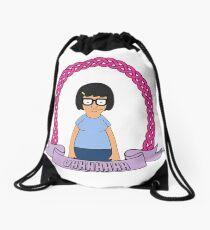 UHHHHHH // Tina Belcher Drawstring Bag