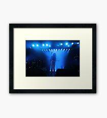 Dragonette on Stage Framed Print