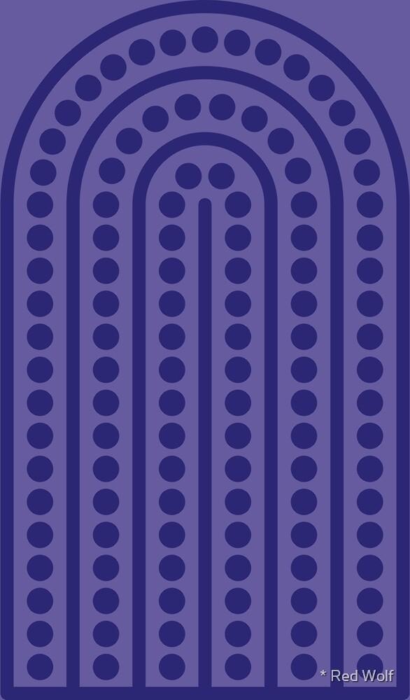 Geometric Pattern: Arch Dot: Elizabeth by * Red Wolf