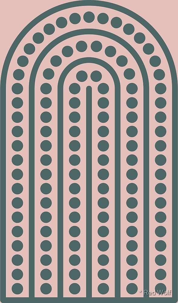 Geometric Pattern: Arch Dot: Roma by * Red Wolf