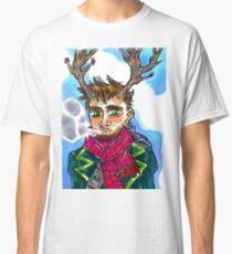 Smoking queer man Classic T-Shirt