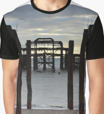 Brighton West Pier Graphic T-Shirt