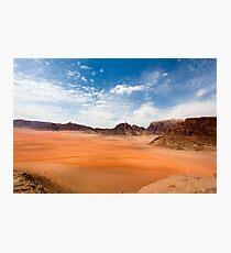 Wadi Rum desert, Jordan  Photographic Print