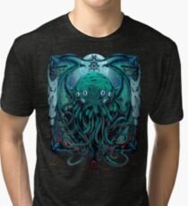 Cthulhu Tri-blend T-Shirt