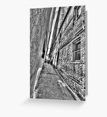 Abercrombie Lane.  Greeting Card