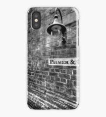 Palmer & Co, Abercrombie Lane. iPhone Case/Skin
