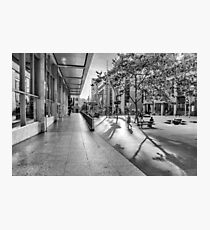 A Good Shadow Is Difficult to Resist - Martin Place - Sydney Photographic Print