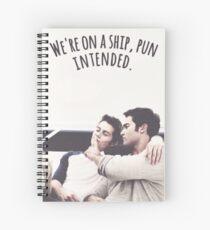 Sterek - Teen Wolf Spiral Notebook