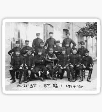 Unpublished  01 (n&b)(t) photographs ever published 1914-1918 war photos and Tribute to my 2 great Uncles Clerté-Fayolle and Eugéne Pellafol died in 1915 ...  Sticker
