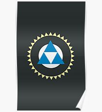 Tri Force Poster