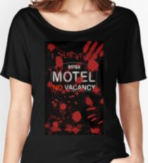 I Survived Bloody Bates Motel Women's Relaxed Fit T-Shirt
