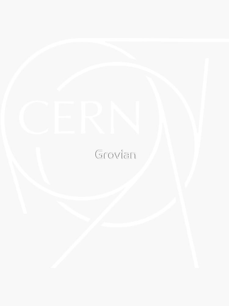 CERN Weiß von Grovian