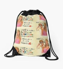 15 minutes of fame is not forever! Drawstring Bag