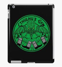 Cthulhu's gym iPad Case/Skin