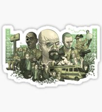 Breaking Bad Art Sticker