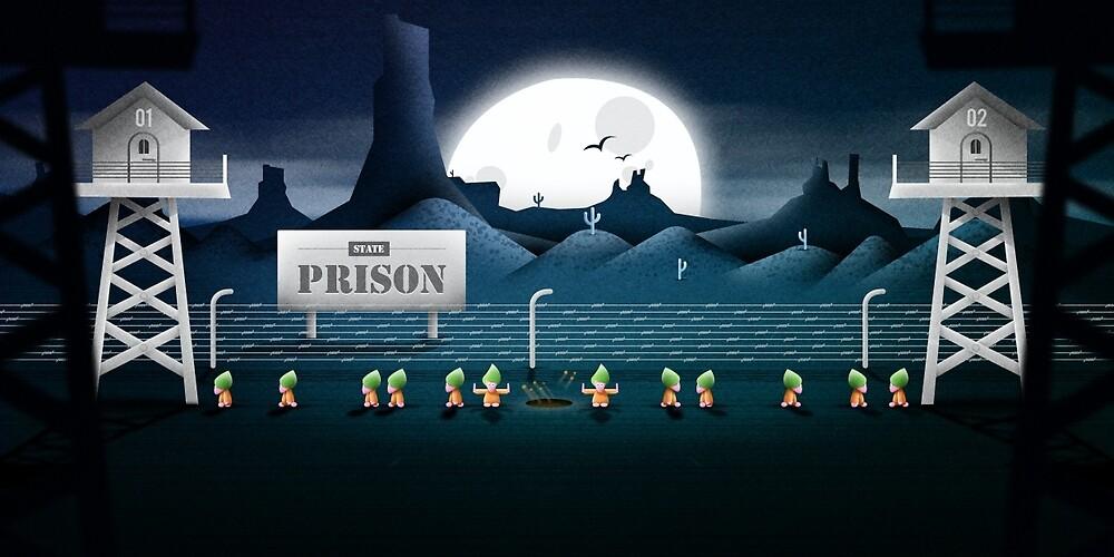Prison Break by antclark