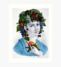 Autumn - 1871 - Currier & Ives Art Print