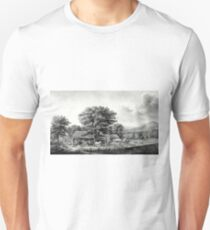 Autumn in New England - cider making - 1866 - Currier & Ives Unisex T-Shirt