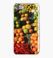 Fresh Fruits and Vegetables at the Market iPhone Case/Skin