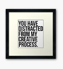Creative Process Framed Print