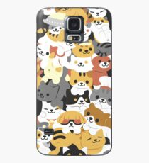 cat pile Case/Skin for Samsung Galaxy